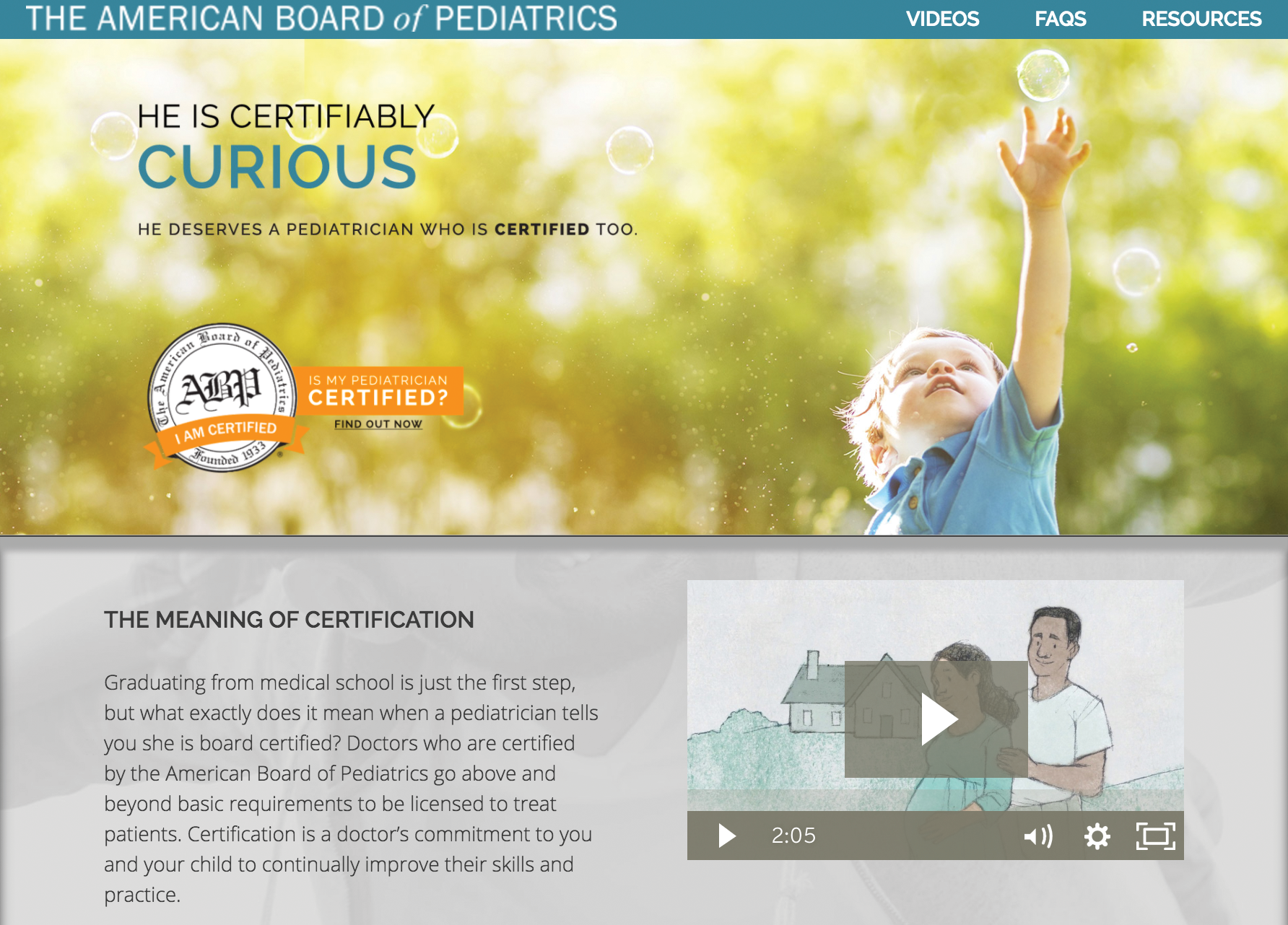 Bringing parents into conversation changes everything the parents also helped the abp develop a website mycertifiedpediatrician to explain to parents and the public what certification is and what 1betcityfo Images